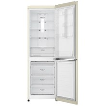 Двухкамерный холодильник LG GA-B 419 SYGL бежевый