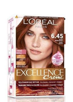 Loreal doskonałości farba do włosów 6 45 najnowsza miedziana kawy 247230206 tanie i dobre opinie