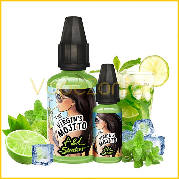 Aromes Et Liquides A&L Shaker THE VIRGIN'S MOJITO 30 Ml Vape Shop