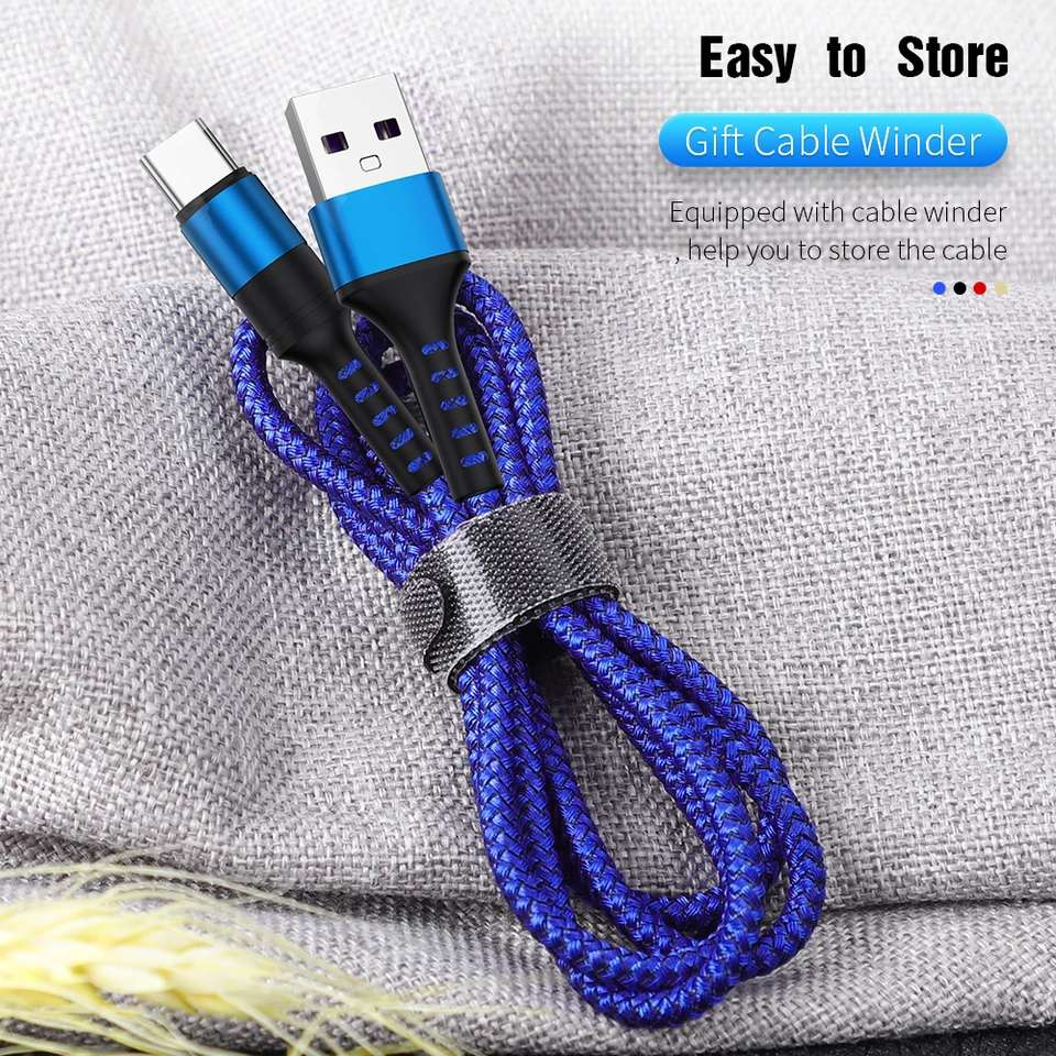 5A Super Fast USB C Cable for Huawei P30 P20 Lite Xiaomi Mi 9 Quick Charge 3.0 USB Type C Charging Cable for Samsung S8 S10 S9 Mobile Phone Cables     - AliExpress