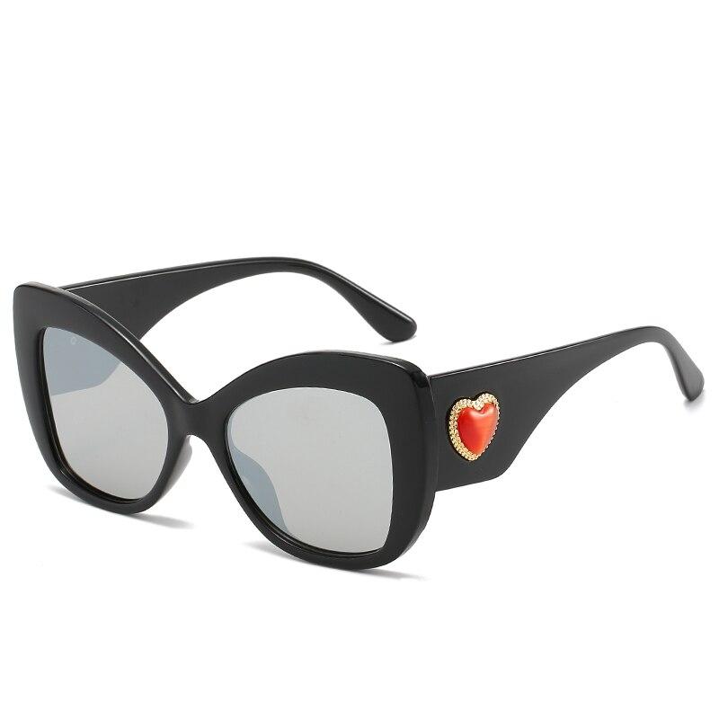 Винтажные негабаритные роскошные солнцезащитные очки для женщин FC оптика брендовые дизайнерские модные очки UV400 Солнцезащитные очки