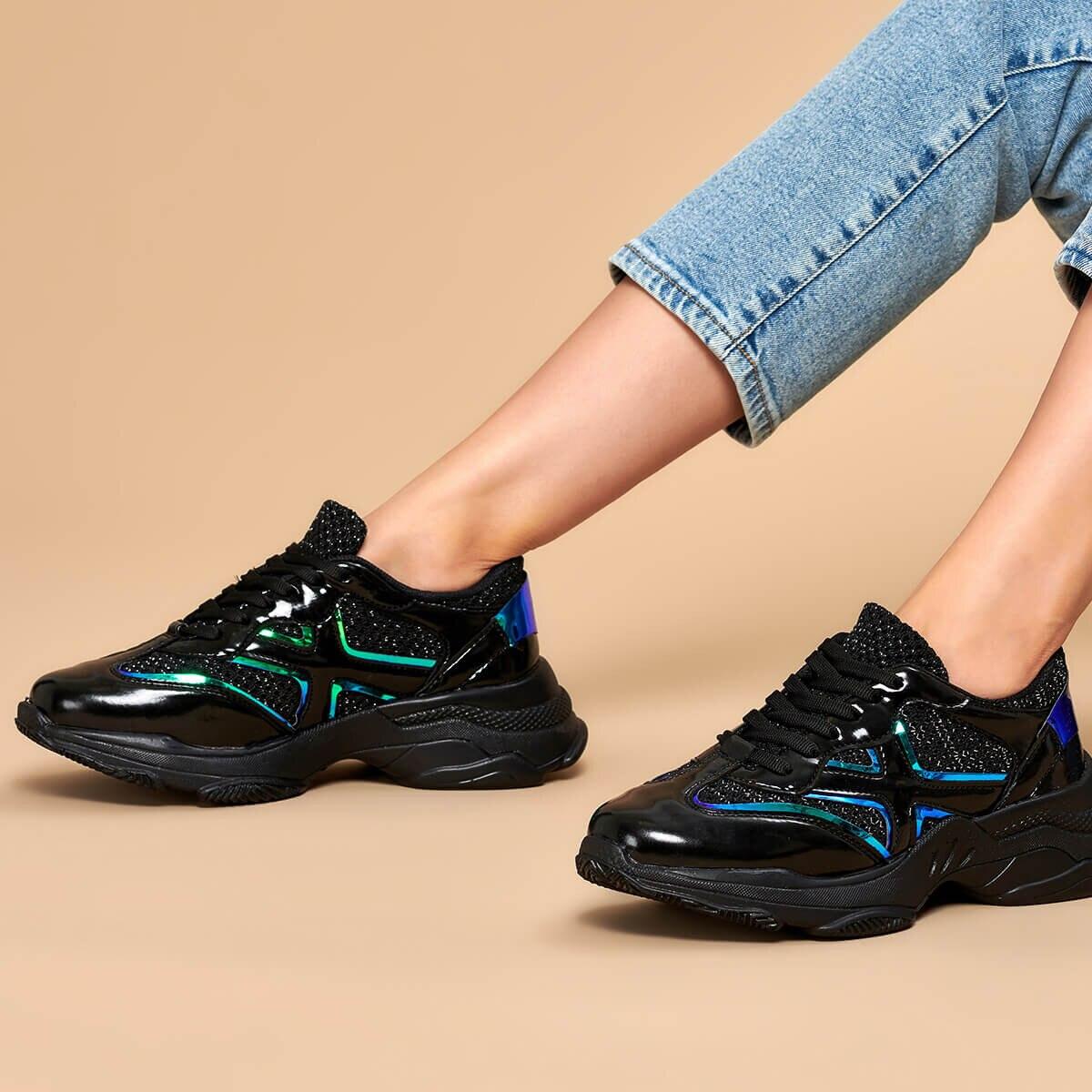 FLO 19K-953 Black Women Sneaker BUTIGO