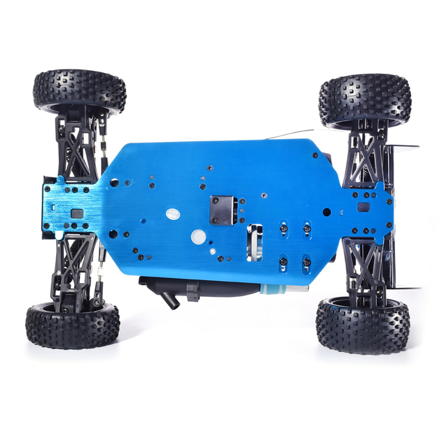Free shipping HSP Baja 1/10 ratio nitro power off-road vehicle 4WD RC car 94166 and 18cxp engine speed 60-80KM/H 6