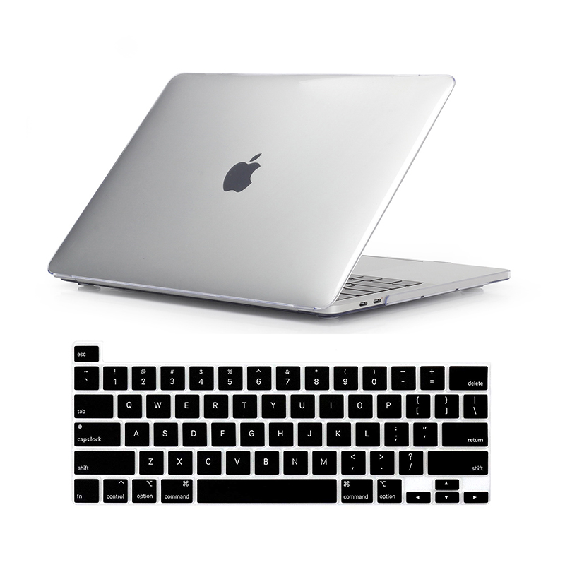 For New MacBook Pro 16 Case 2019 Release A2142 Laptop Bag Case  for Mac Book Pro 16 with Touch ID Touch Bar   US Keyboard CoverLaptop  Bags