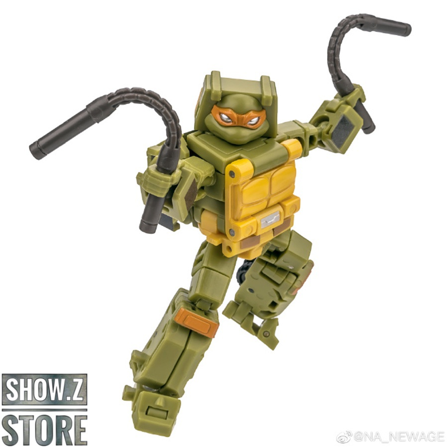 [Show.Z Store] Newage NA Toys H19N H-19N H-19 Pizzeria TMNT Transformation Action Figure