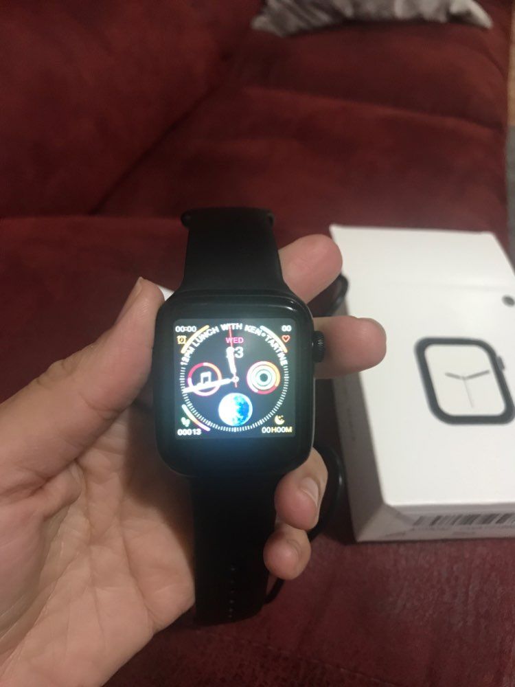 LEMFO Bluetooth Smart Watch Series 4 Heart Rate Monitor Smartwatch 44mm Case for android Apple Phone relogio inteligente-in Smart Watches from Consumer Electronics on AliExpress
