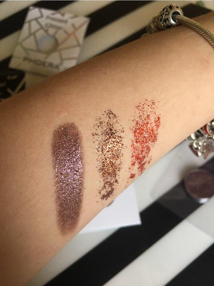 PHOERA Makeup Eye Shadow Matte Eyeshadow Palette Pigment Shimmer Powder Magnificent Metals Glitter Glow Eyeshadow Cosmetics