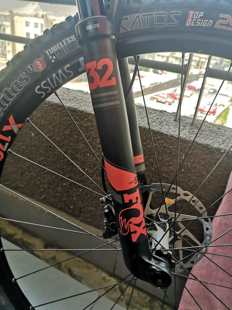 New custom FOX 32 Syndicate fork stickers decals mtb bike