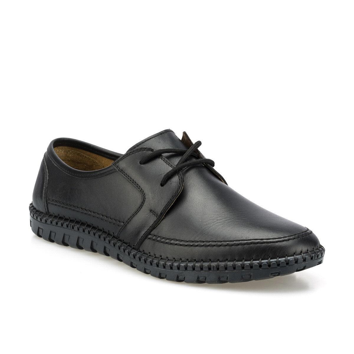 FLO 102093.M Black Men 'S Classic Shoes Polaris 5 Point