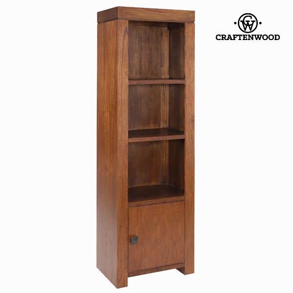 ชั้นวาง Mindi ไม้ (190x60x40 ซม.)-Nogal Collection โดย Craftenwood