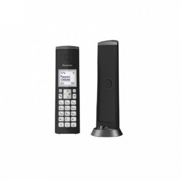 Drahtlose Telefon Panasonic KX-TGK210SPB DECT Schwarz