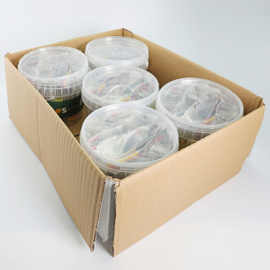 IBERITOS-box 5 cubes 7 DUOS SALAD-oil Virgin, vinager and salt