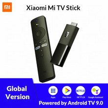 Original Xiaomi Mi TV Stick Android TV 9,0 Quad Core HD 1080P decodificación de Audio Chromecast Netflix, Youtube TV inteligente reproductor de medios