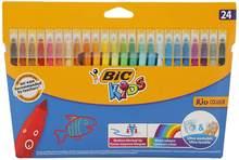 Stylo à peinture en feutre de Couleur pour enfants, Ultra lavable, 24 couleurs