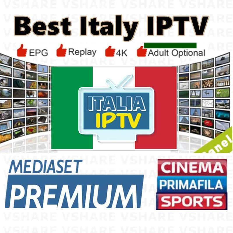 2020Best Smarters IPTV Italy IPTV Italian Free IPTV M3U8 Subscription Android VLC Engima Mediaset IPTV Premium Dazn Italian