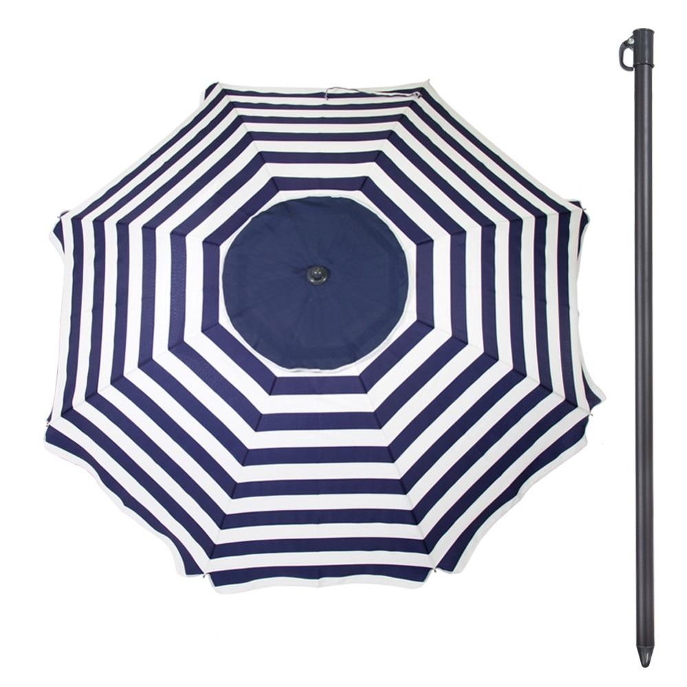 Ombrellone D200 cm con UV30 Aktive di protezione Spiaggia