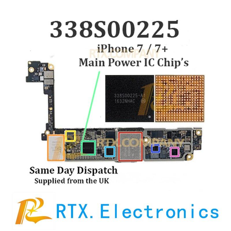 No Sound // Audio iPhone 7 // 7+ Plus Main Audio IC 1 // 2 or 5pcs 338S00105