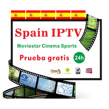 Spain IPTV Subscription premium 1 year full HD spain local live VOD IPTV espa a M3u smart tv free test(China)