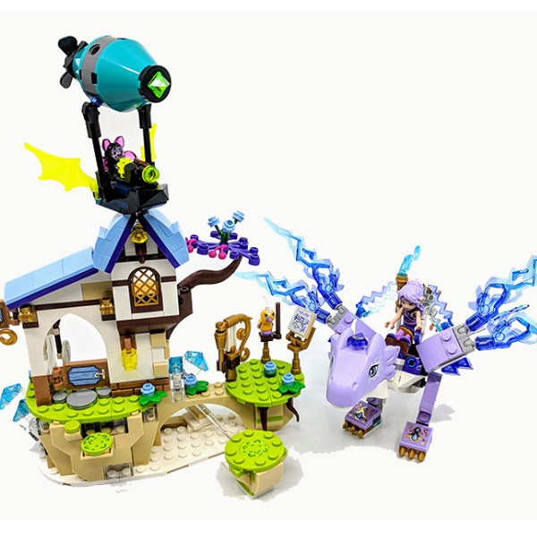 30017 Elves Series Aira & the Song of the Wind Dragon Model Building Block Bricks Toys Gifts Compatible With Elves 41193