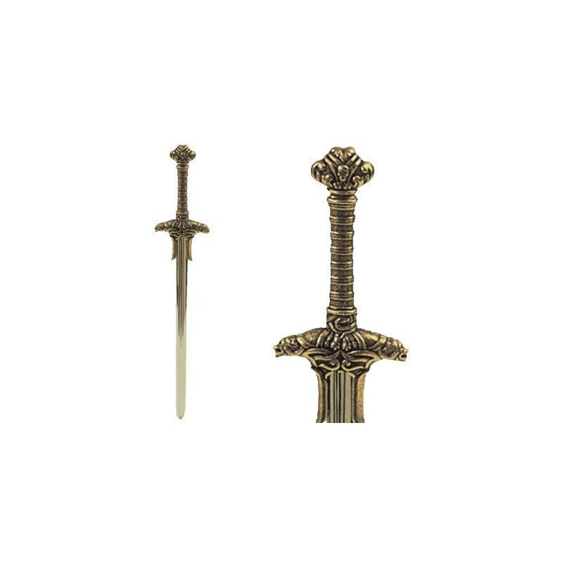 Letter Opener Sword Of Barbarian Warrior (25cm)
