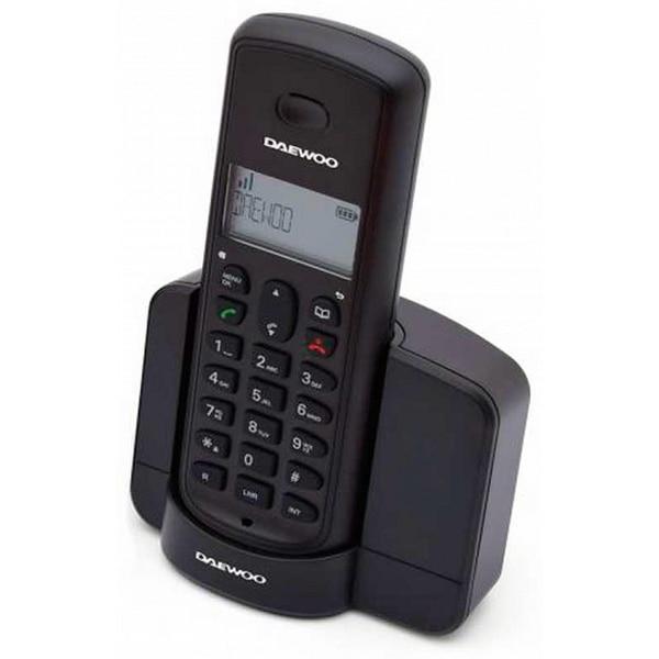 Беспроводной телефон Daewoo DTD-1350 DECT DUO черный