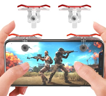 R1L1 Triggers for phone E9 2 PCs for playing on Android and iOS in PUBG, Fortnite, standoff.