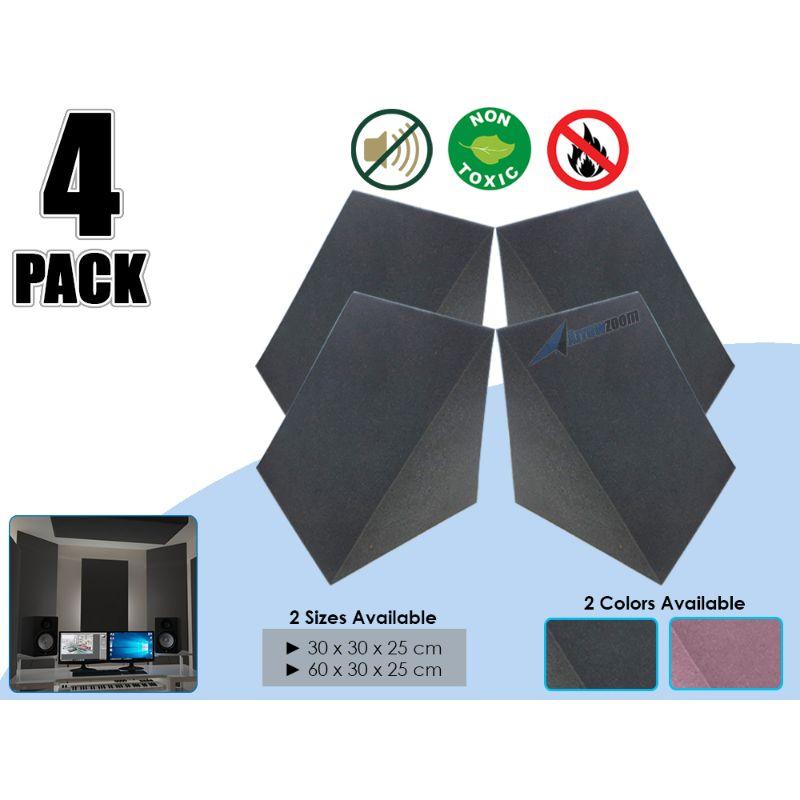 Arrowzoom Corner Bass Trap Triangular Block Wall Studio Soundproofing Acoustic Foam Treatment