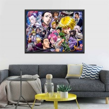 Hunter x Poster Popular Classic Japanese Anime Home Decor Print 40x50cm 50x70cm 60x80cm
