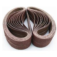 10 шт/компл прочные шлифовальные ленты из оксида алюминия абразивная