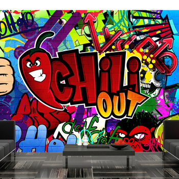 Wall mural-Chili out - 100x70 cm