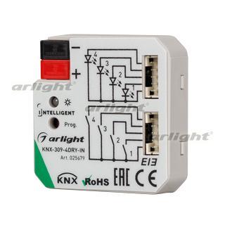 025679 Intelligent Arlight Converter Knx-309-4dry-in (bus) Arlight 1-piece