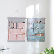 Creative Printing Wall Hanging Bags Multi-function Waterproof Closet Organizer Underwear Storage Bag Jewelry Makeups Organizdor