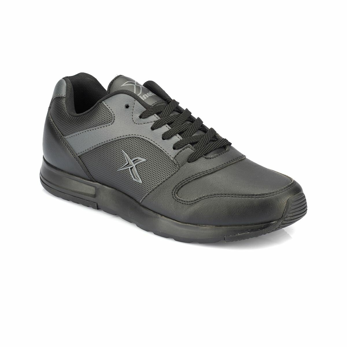 FLO FLAT PU M Black Men 'S Sneaker Shoes KINETIX