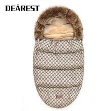 Детская коляска для сна, сумка, зимние теплые спальные мешки, халат для младенцев, конверты для новорождённых, Детские Зимние путешествия