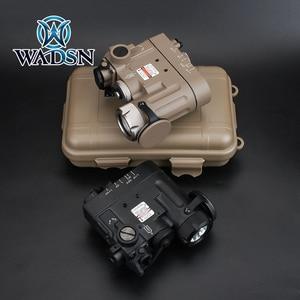 Image 2 - WADSN Softair Flashlight IR Lazer Red Dot Laser DBAL D2 Multifunction White Light DBAL MKII Tactical Battery Case Weapon Lights