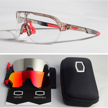 3 Lens Brand S2 polarized Bicycle Glasses Outdoor Sports MTB Cycling Su