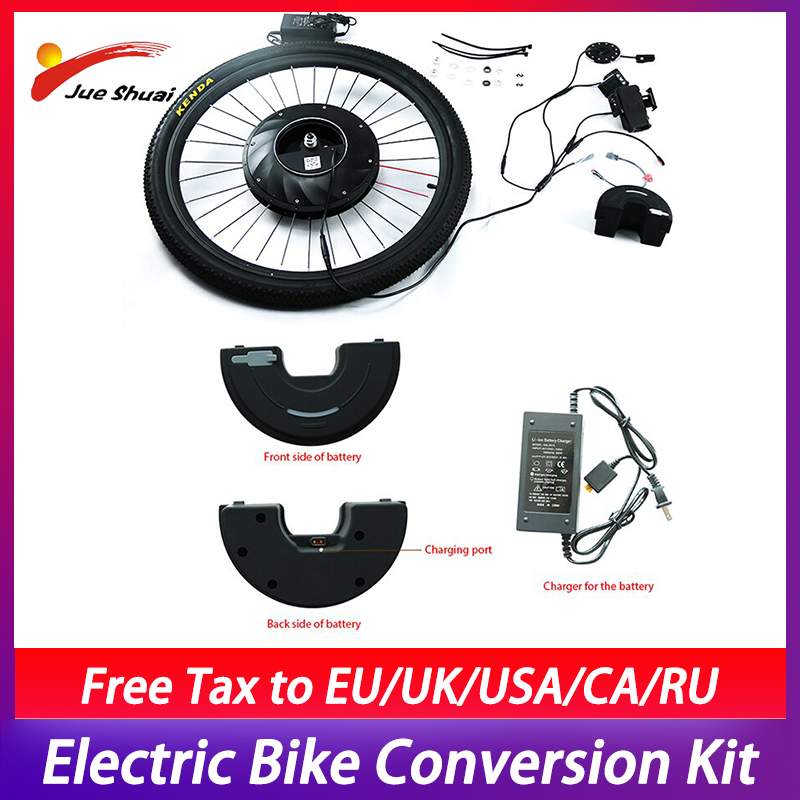 Electric Bike Conversion Kit Imotor Front Hub <font><b>Motor</b></font> Wheel <font><b>36v</b></font> Electric Bicycle Conversion Kit MTB <font><b>Motor</b></font> Electrico Para Bicicleta image