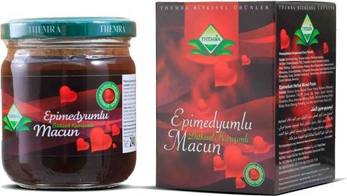 240 Gr Türkish Horny Goat Epimedium Gingseng Men Afrodisiak Themra Organics Viagra Performance Men Power-Hot Nights For Womens ! 3