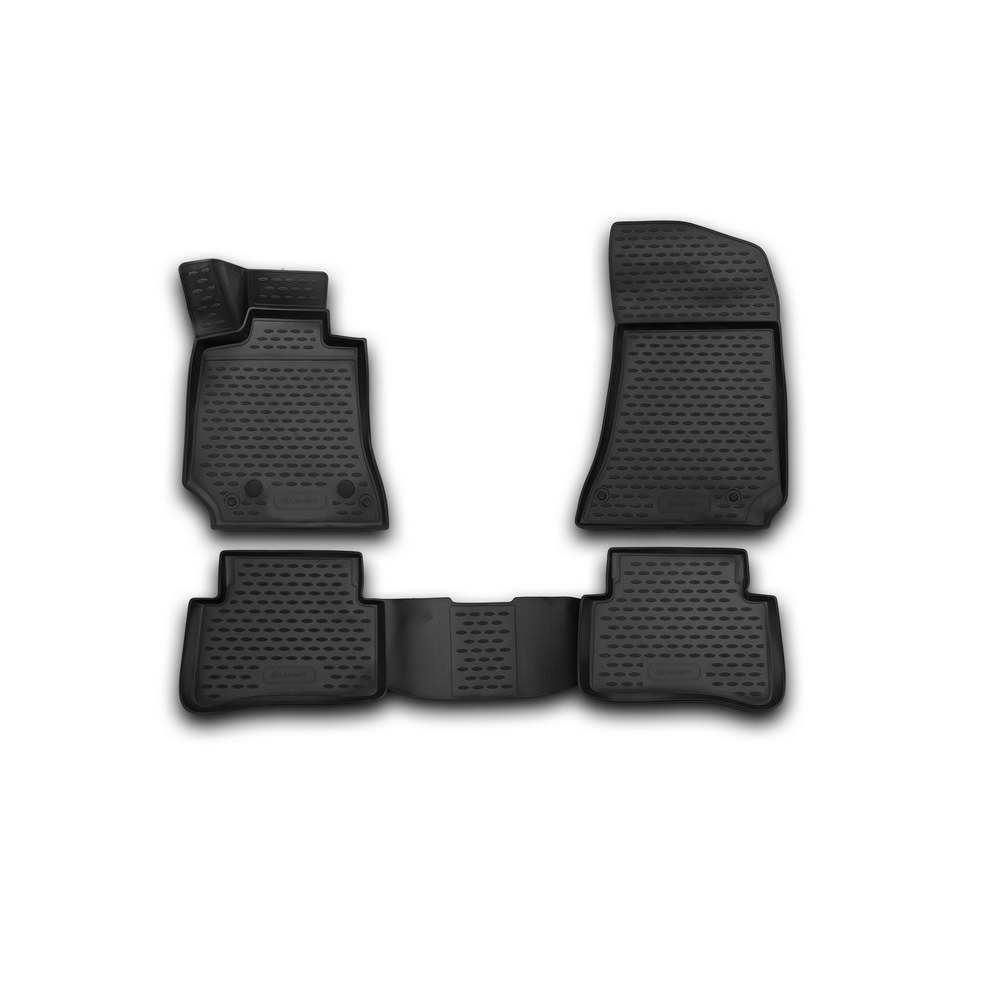 3D Mats In The Salon For MERCEDES-BENZ E-Class W212, 2009-2016, Sedan, 4 PCs NLC.3D. 34.42.210k