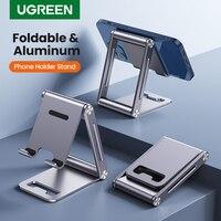 UGREEN-Soporte de aluminio para teléfono móvil, soporte para tableta, para iPhone, Xiaomi, Samsung, Huawei