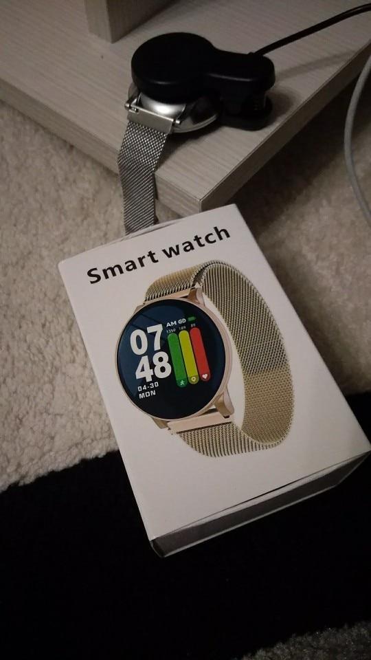 LYKRY Smart Watch Men Women Blood Pressure Activity Sport Wristband Fitness Tracker Blood Oxygen Monitor smartwatch for Android Smart Watches     - AliExpress