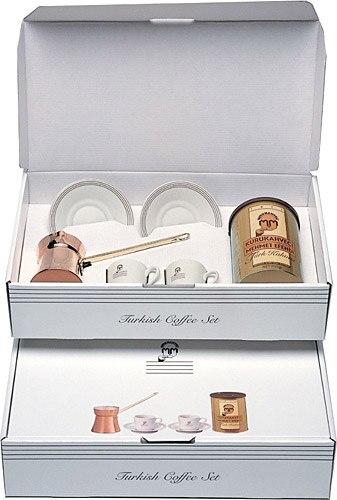 Kuru Kahveci Mehmet Efendi Turkish Kahve Seti