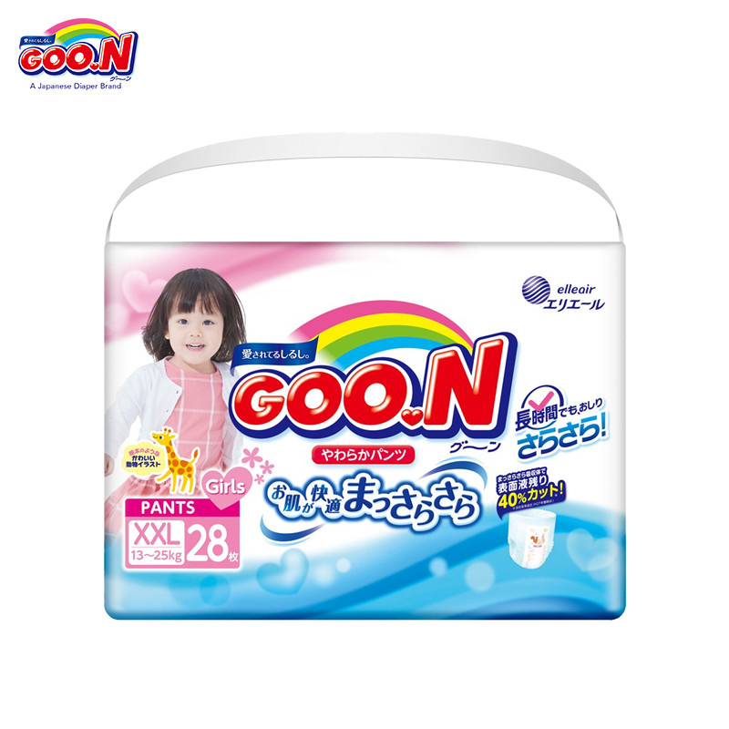Трусики GOON Panties Girls 13-25 кг (28 шт.) XXL