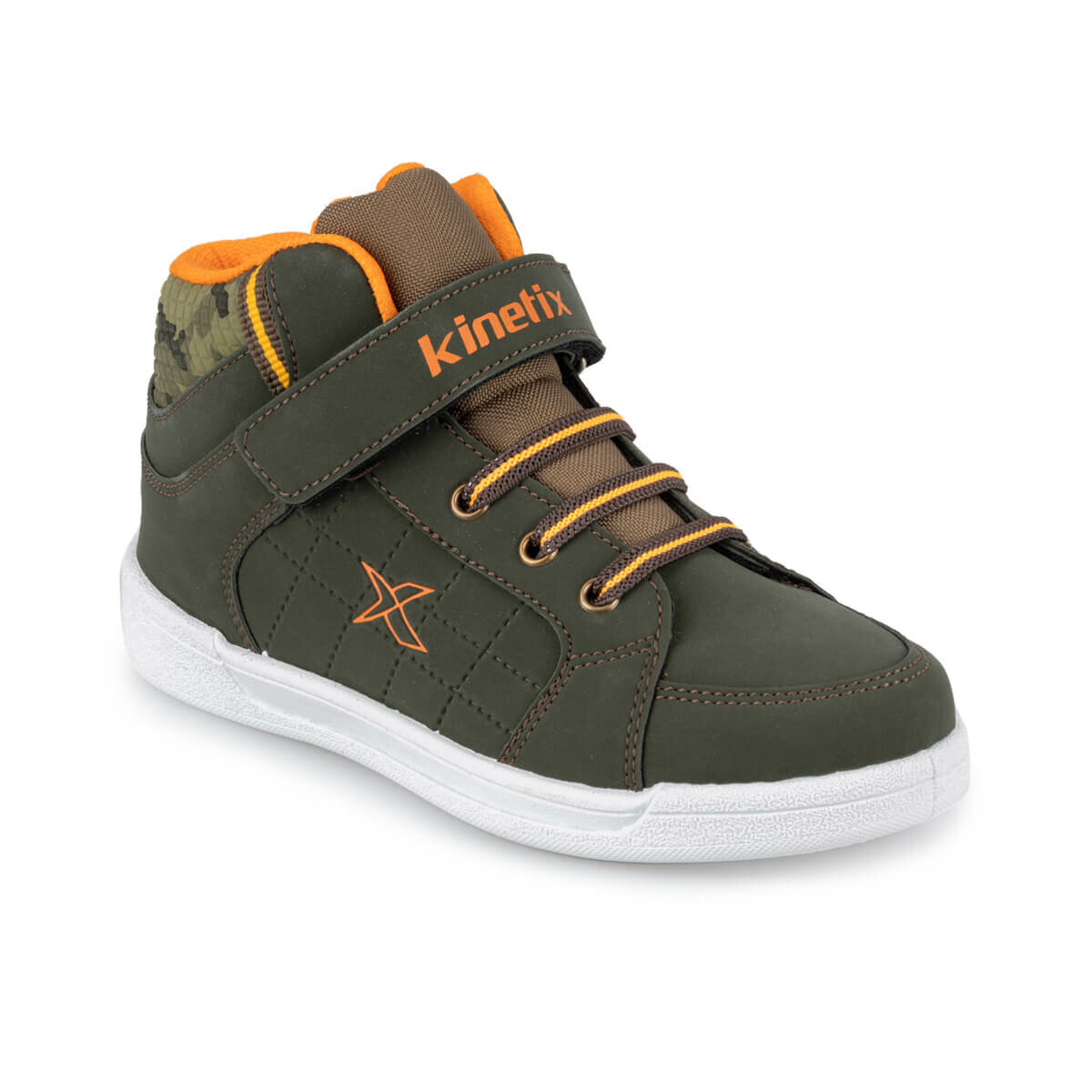 FLO LENKO HI C 9PR Khaki Male Child Shoes KINETIX