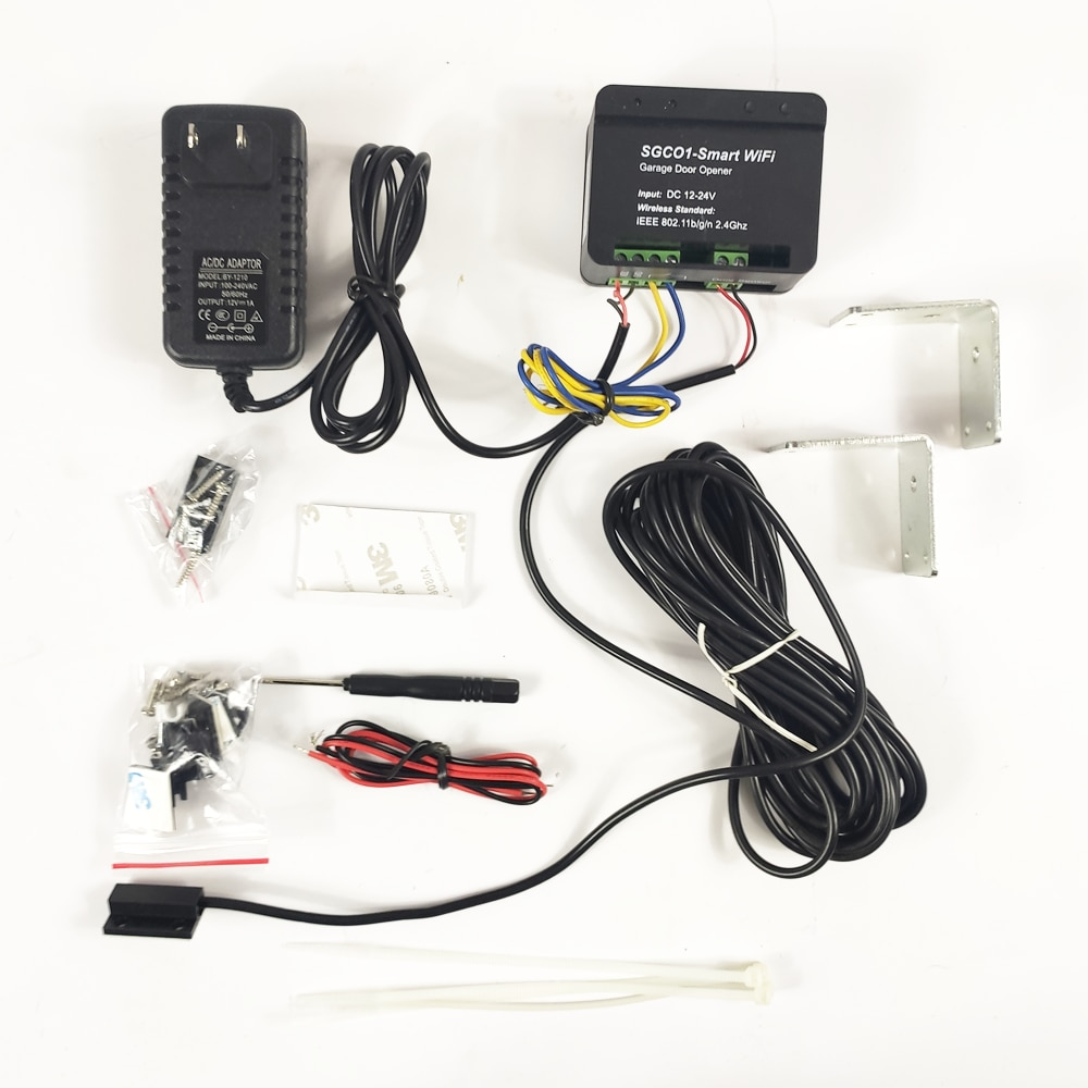Home Gate Sgc01 Wireless Receiver With WiFi And Sensor Opening. Control By Android And IOS.
