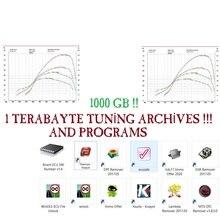 Remaps 데이터베이스 + 자동차 + 트럭 + 오토바이 + 1 테라바이트 칩 튜닝 파일 + 800GB DAMOS(Edc17)Immo Off + Kessv2 + Ecm 티타늄 + Dpf Egr 람다 리무버