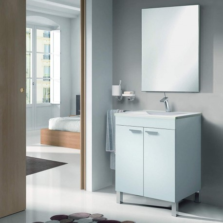Cabinet 60cm Width Sink And Mirror