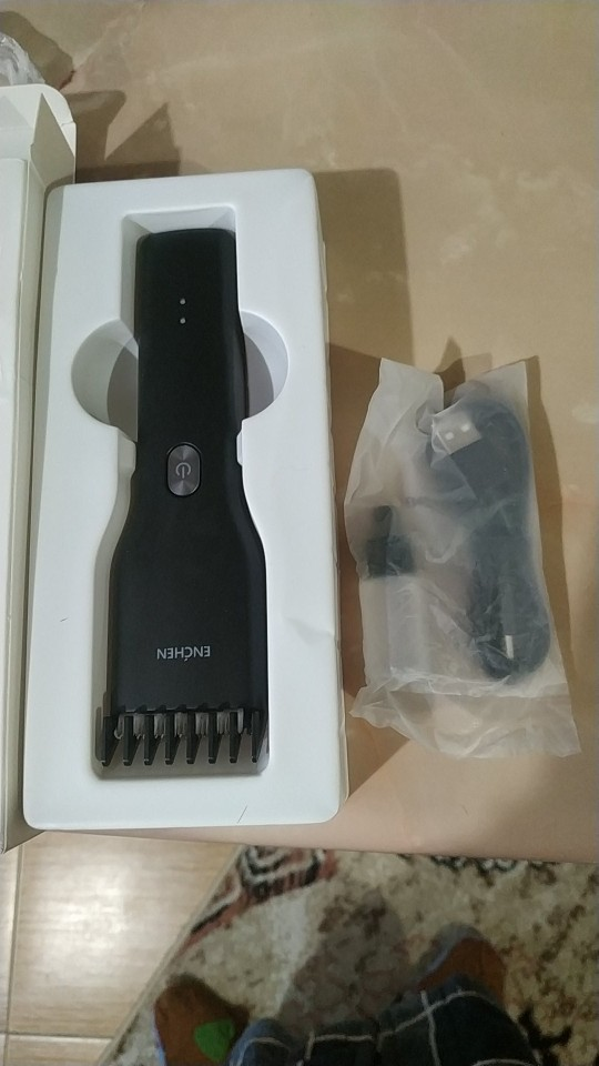 ENCHEN Boost Cordless USB Rechargeable Electric Hair Clipper and Cutting Machine With Adjustable Comb photo review