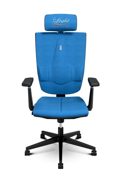 Office Chair KULIK SYSTEM SPACE Jeans Computer Chair Relief And Comfort For The Back 5 Zones Control Spine