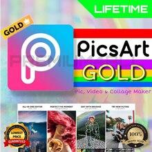 Picsart gold [lifetime] preço mais barato!!!